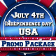 July 4th US Patriotic Broadcast Promo Pack - VideoHive Item for Sale