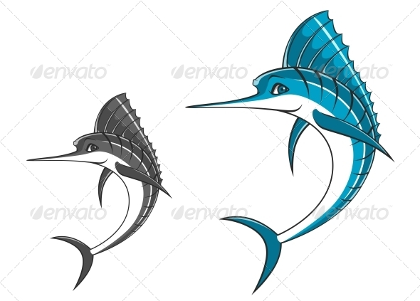 GraphicRiver Big Blue Marlin 4869510