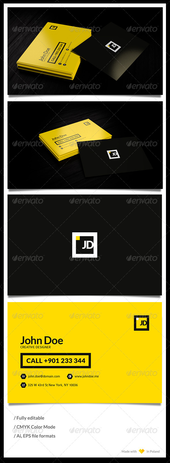 GraphicRiver Personal Bussiness Card Template 4869918