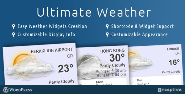 CodeCanyon Ultimate Weather 4870318