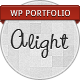 Alight - WordPress Portfolio - ThemeForest Item for Sale