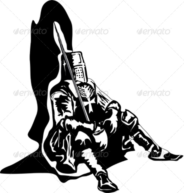 GraphicRiver The Sitting Knight 4872313