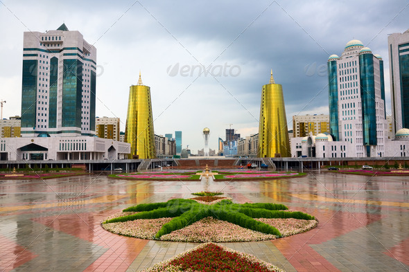 City landscape. - Stock Photo - Images
