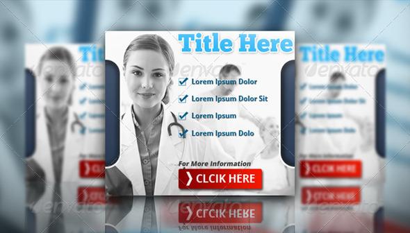 GraphicRiver Medical Banner Set 4873237