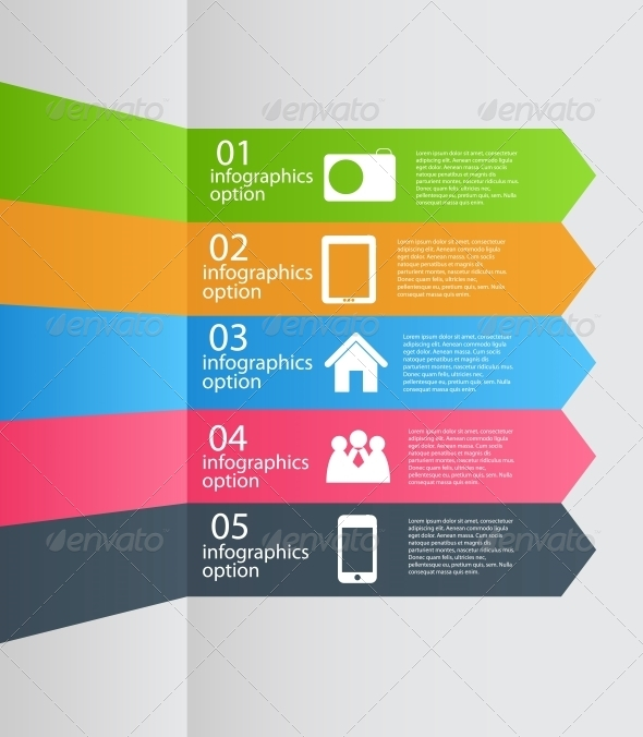 GraphicRiver Infographic Template Business Vector Illustration 4874561