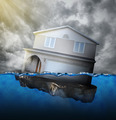 Home Sinking in Water - PhotoDune Item for Sale