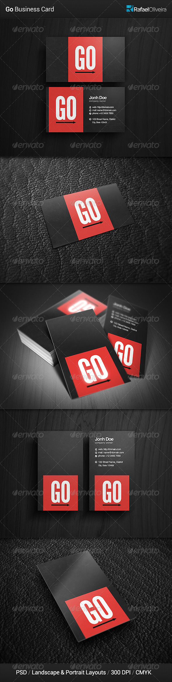 GraphicRiver Go Business Card 4875186
