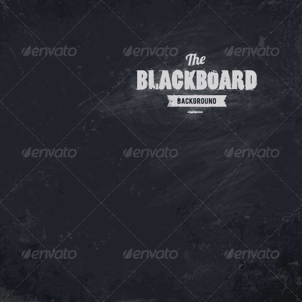GraphicRiver Blackboard Vector Background 4877539