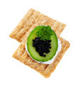 Cool Cucumber and Caviar Cracker - PhotoDune Item for Sale