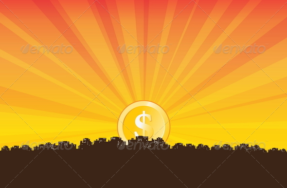 GraphicRiver Money Rise 4877989