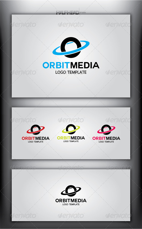 GraphicRiver OrbitMedia Logo Template 4878807