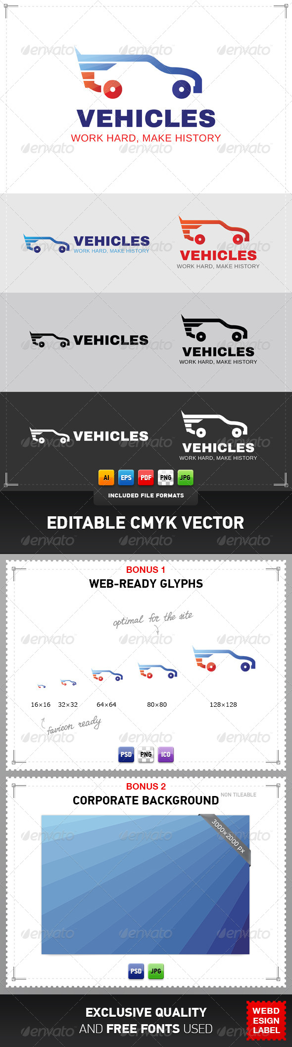 GraphicRiver Vehicles Logo 4880011