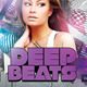 Deep Beats Party Flyer Template - GraphicRiver Item for Sale