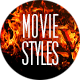 Movie Text Effects & Styles II - GraphicRiver Item for Sale