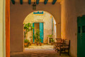 Inner courtyard in caribbean house - PhotoDune Item for Sale
