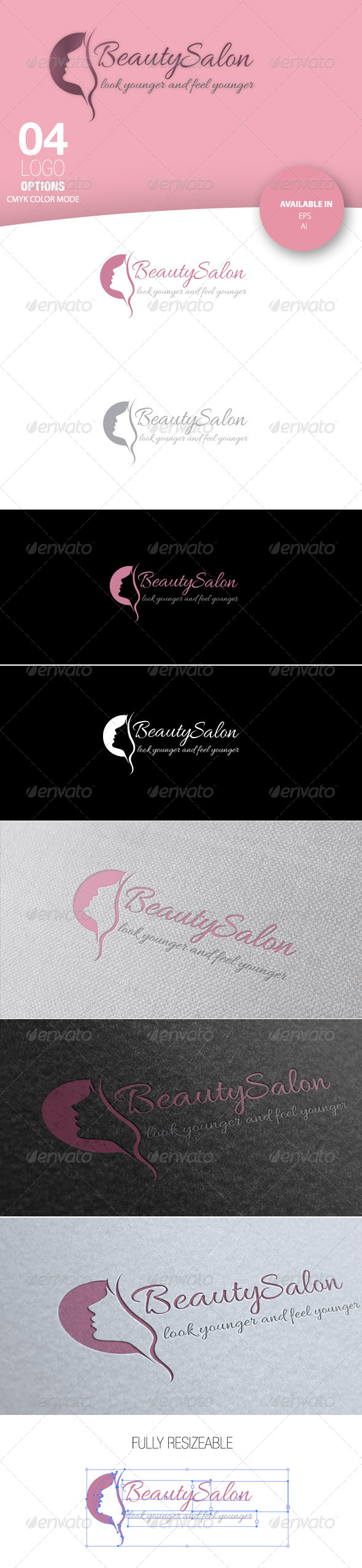 GraphicRiver Beauty Salon Logo 4882499
