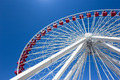 Giant Ferris Wheel at Navy Pier in Chicago - PhotoDune Item for Sale