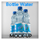 Water Bottle Mock-Up - GraphicRiver Item for Sale
