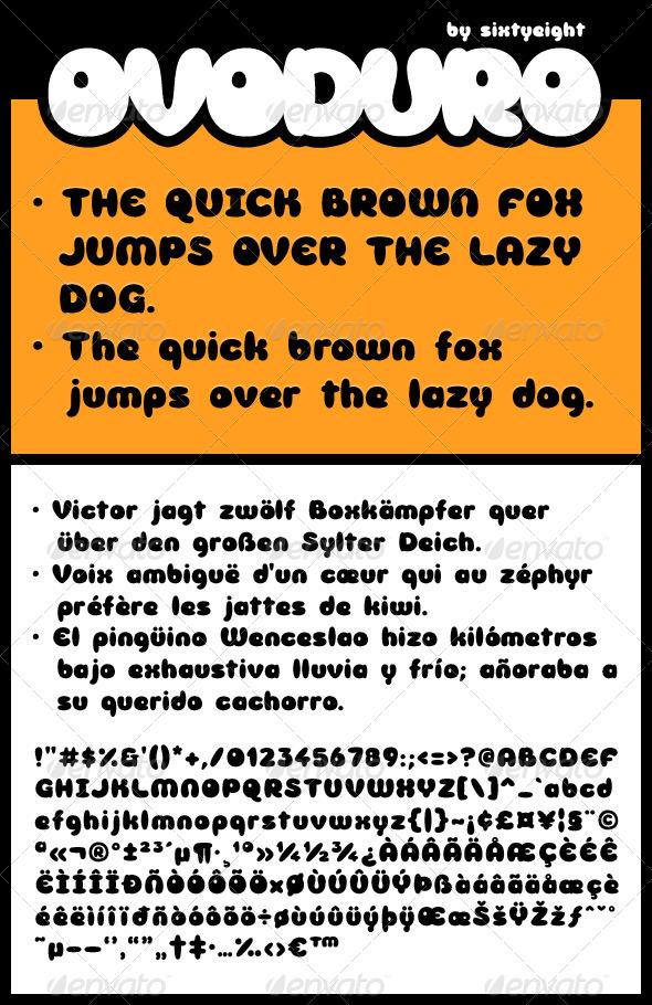 GraphicRiver Ovoduro 4862932