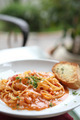 Seafood Linguine cream sauce - PhotoDune Item for Sale