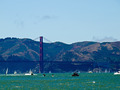 Golden Gate Bridge as Seen from Pier 39 in San Francisco California USA - PhotoDune Item for Sale