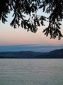 Mountain Lake at Dusk - Lake Chelan in Washington State USA - PhotoDune Item for Sale