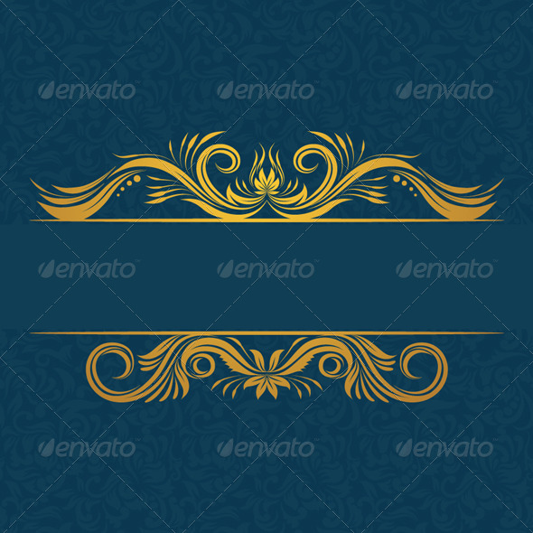 GraphicRiver Decorative Invitations Card 4876360