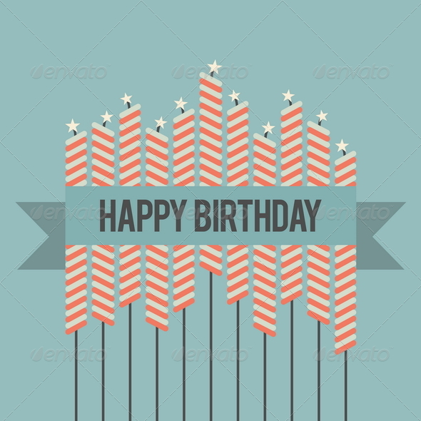 GraphicRiver Retro Birthday Wish 4887440