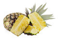 Fresh ripe pineapples isolated on white background - PhotoDune Item for Sale