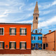 Leaning Tower In Burano - PhotoDune Item for Sale
