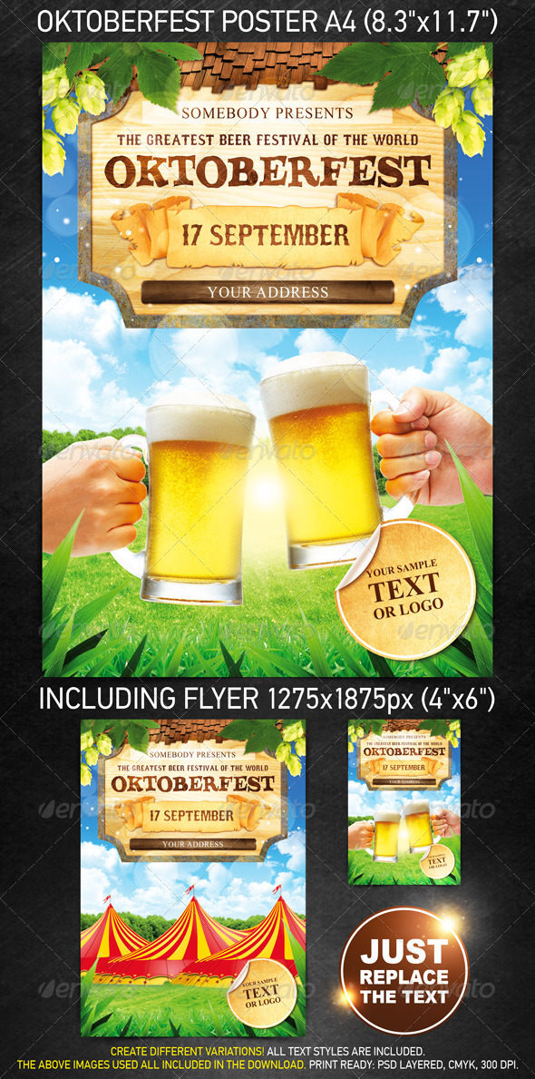 Oktoberfest Festival Template - Holidays Events