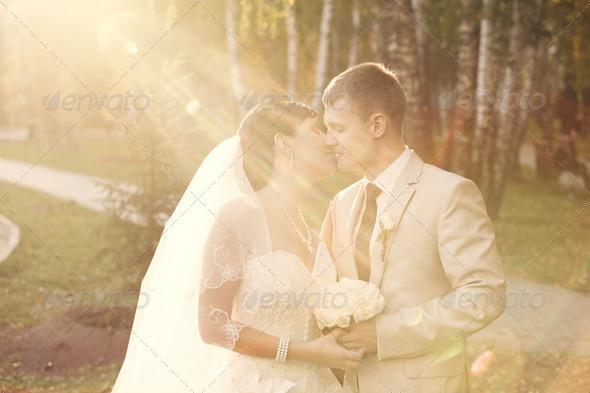 Newlyweds - Stock Photo - Images