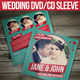 Retro Wedding DVD / CD Sleeve With Disc Label - GraphicRiver Item for Sale