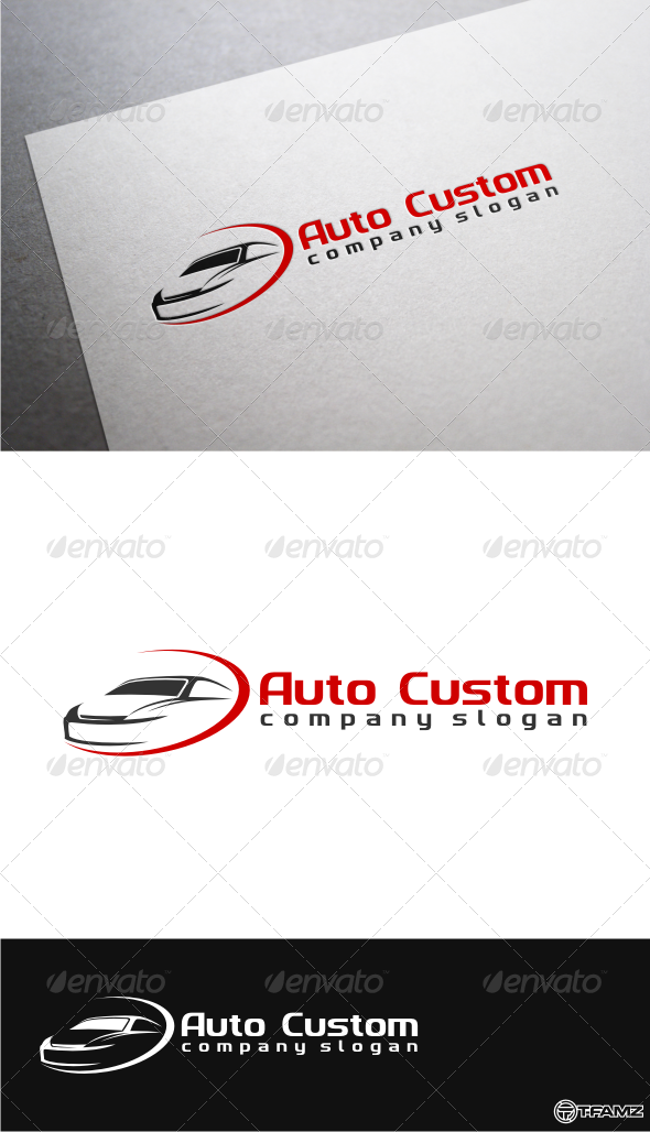 GraphicRiver Auto Custom Logo Templates 4892404