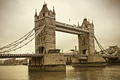 Vintage view of Tower Bridge in London - PhotoDune Item for Sale