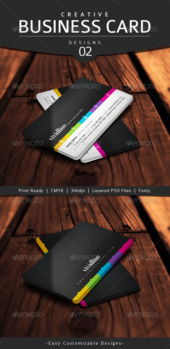 GraphicRiver Creative Business Card Design 02 4826849
