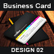 Creative Business Card Design - 02 - GraphicRiver Item for Sale