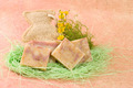 homemade soap, decoration with flowers - PhotoDune Item for Sale
