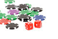 Poker chips and dices - PhotoDune Item for Sale