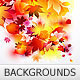 red autumn leaves backgrounds