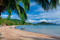 Tropical beach with palms - PhotoDune Item for Sale