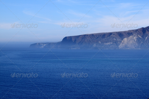 Santa Cruz Island - Stock Photo - Images