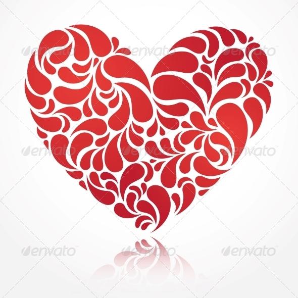 GraphicRiver Vector Heart 4898192