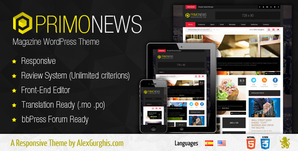 PrimoNews – Premium Magazine Theme (News / Editorial) images
