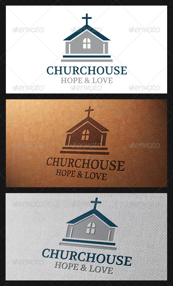 GraphicRiver Church Classic Logo Template 4900874