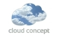 Cloud Concept on White v1 - PhotoDune Item for Sale