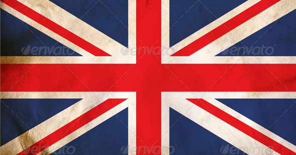 GraphicRiver Grunge Dirty UK Flag 4903973