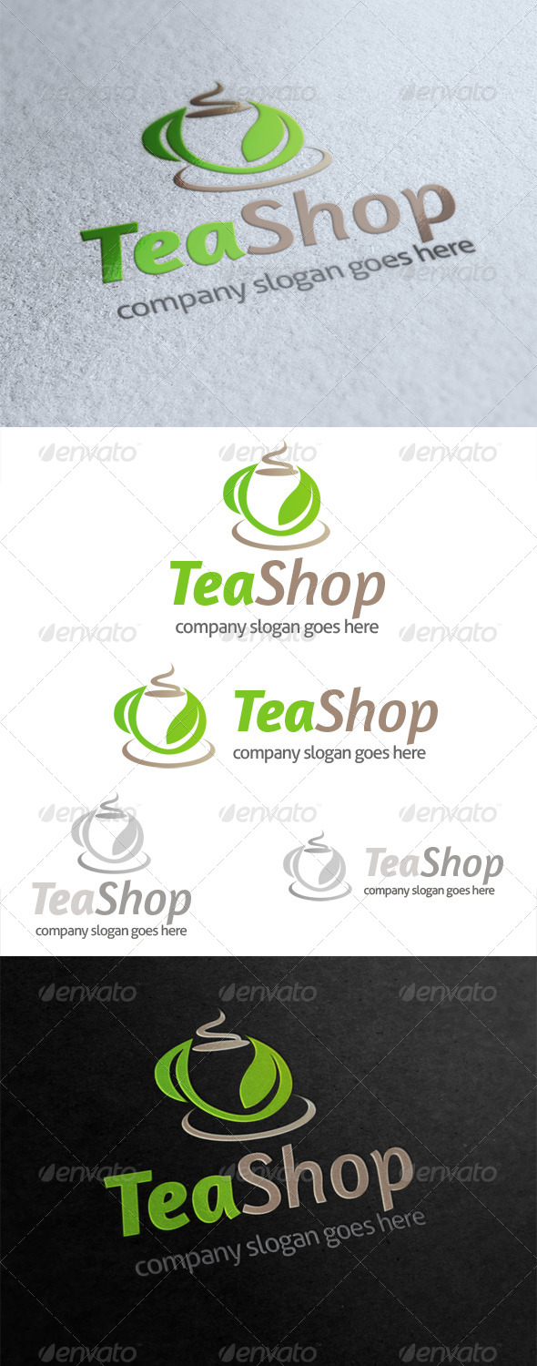 Tea Shop Logo - Food Logo Templates