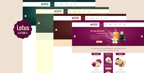 ThemeForest Lotus Multipurpose Responsive Joomla Template 4896249