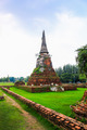 Temple ruins of Ayutthaya in Thailand - PhotoDune Item for Sale